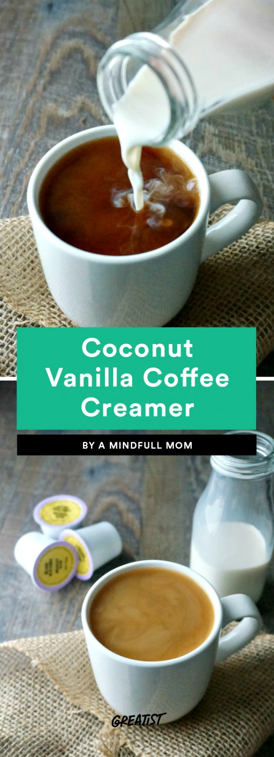 Coconut Vanilla Coffee Creamer