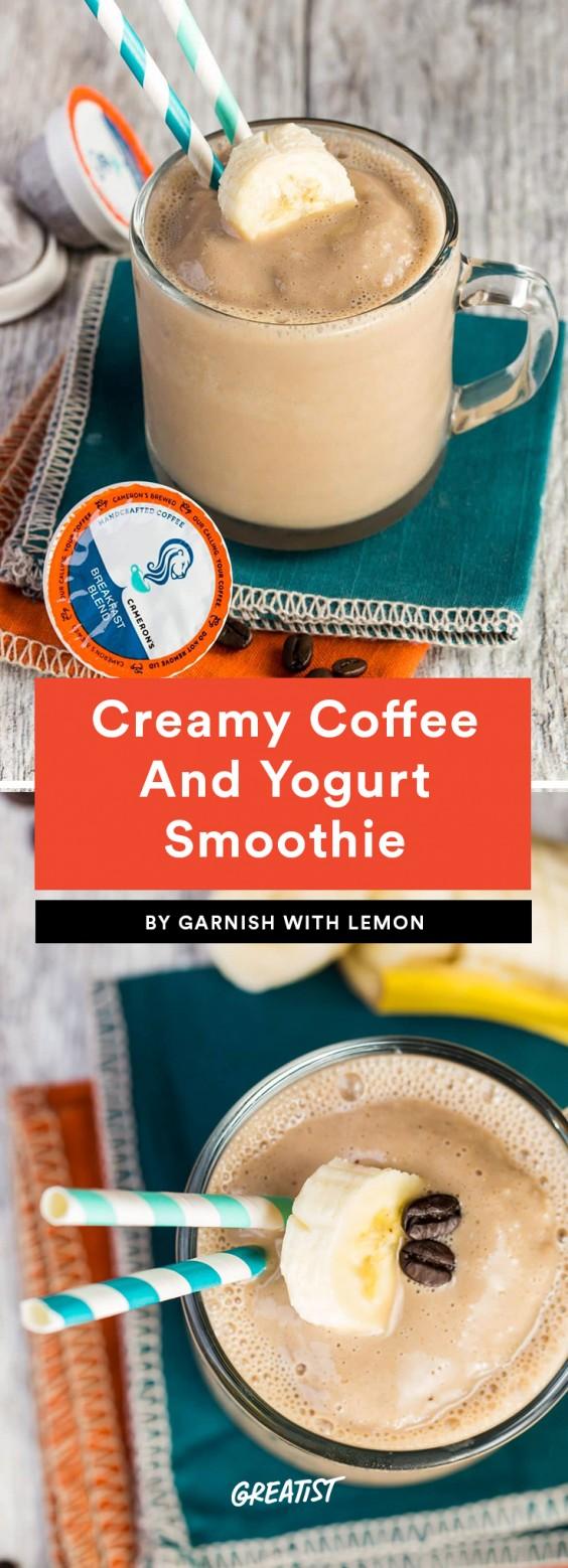 Coffee and Yogurt - 7 EIWIT RIJKE SUPER LEKKERE KOFFIE SMOOTHIES RECEPTEN