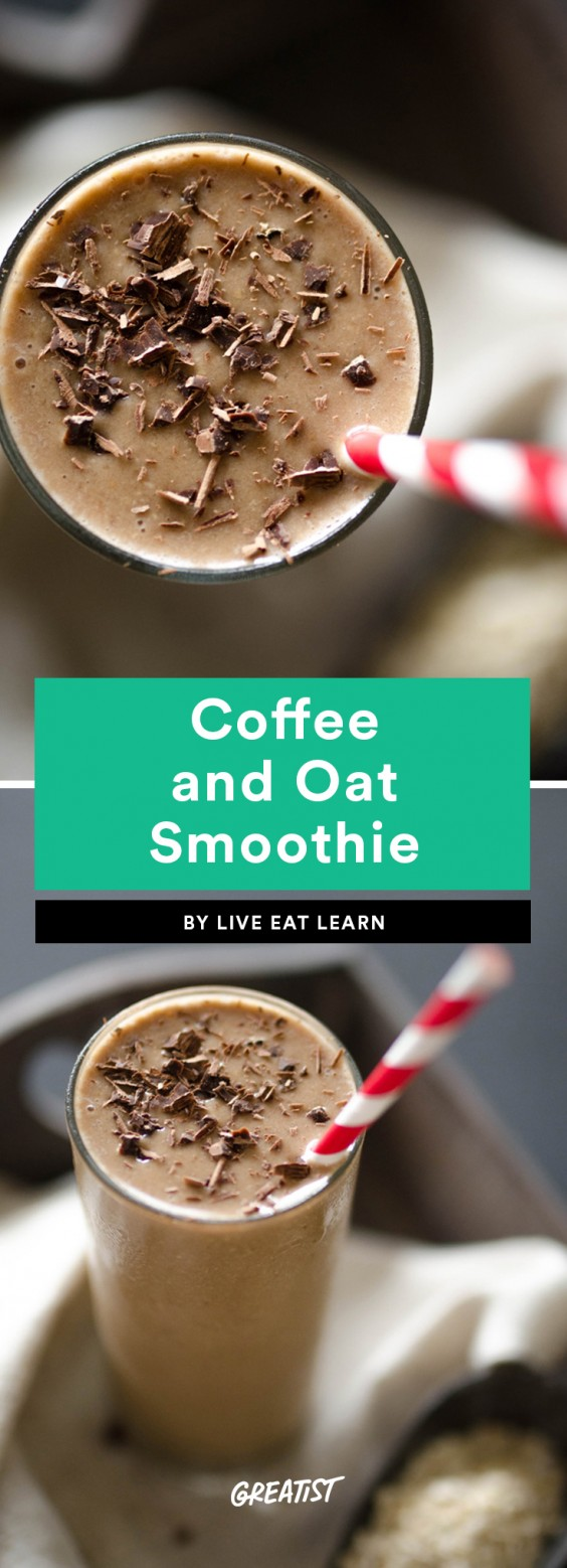 Coffee and Oat Smoothie