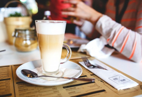 Increase Creativity: Latte in Coffee Shop