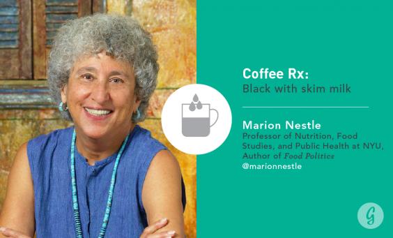 Marion Nestle Coffee