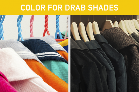 Color for Drab Shades
