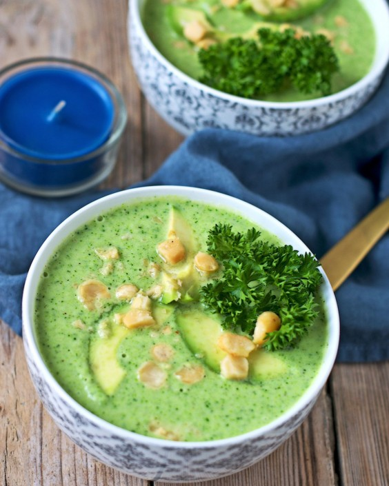 20 Gluten-Free Lunches: Detox Broccoli Soup