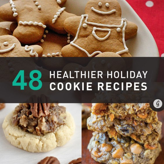 48 Healthier Holiday Cookie Recipes