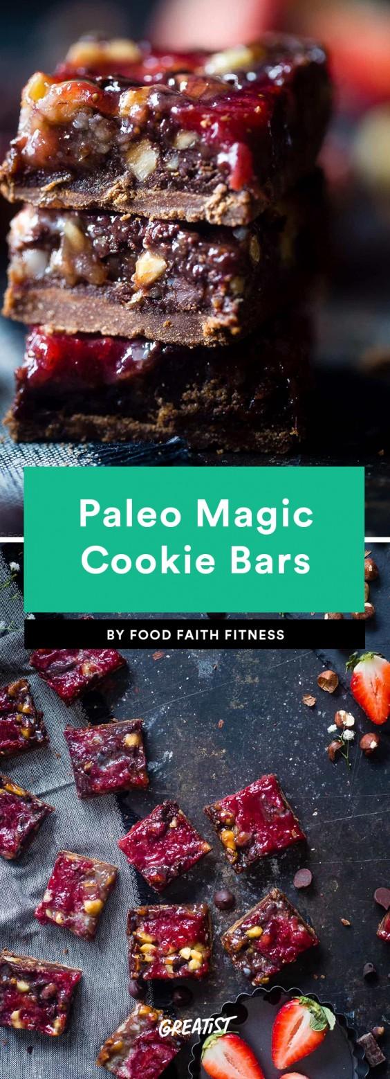 Paleo Magic Cookie Bars
