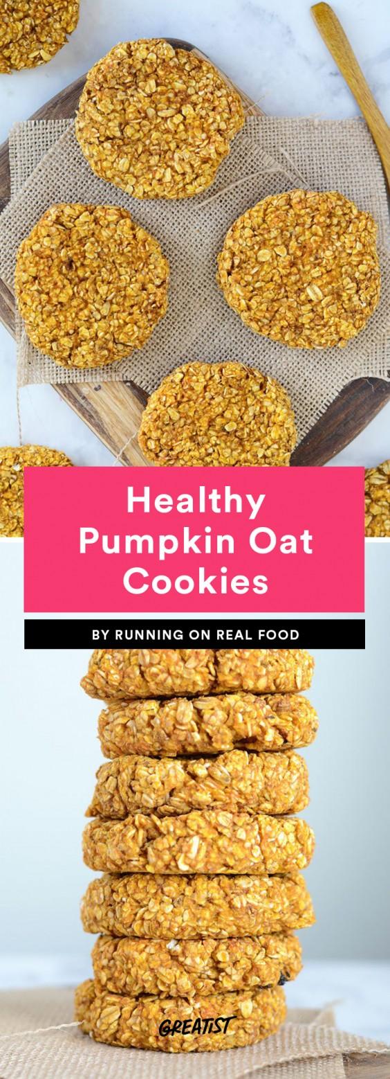 Healthy Pumpkin Oat Cookies Recipes