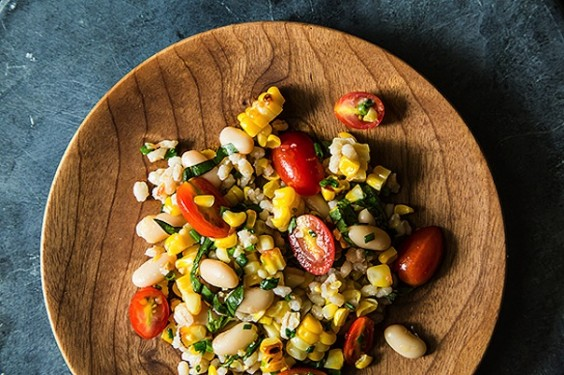 Corn Barley Salad