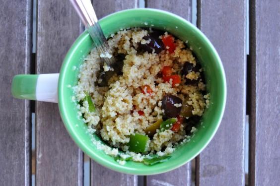 17. Couscous Greek Salad