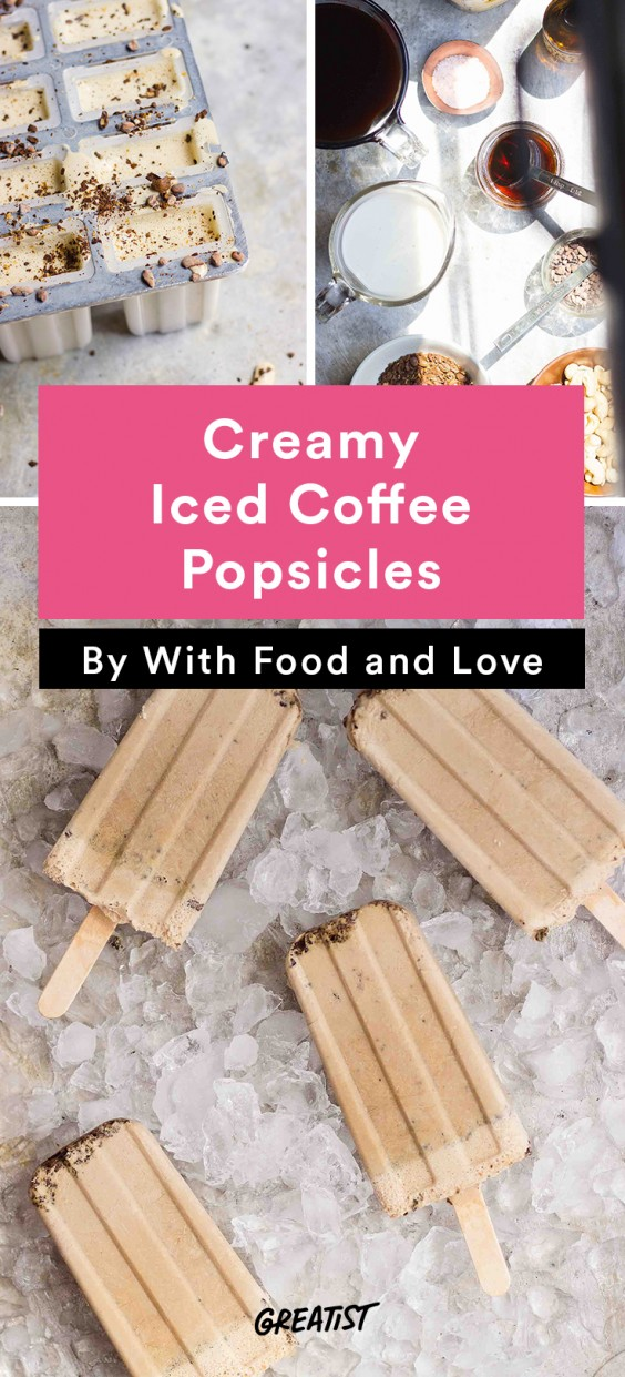 Popsicles: Iced Coffee