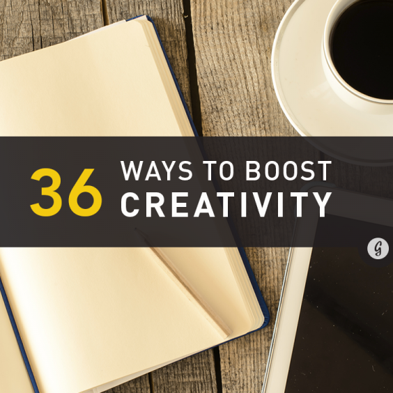 36 Surprising Ways to Boost Creativity for Free