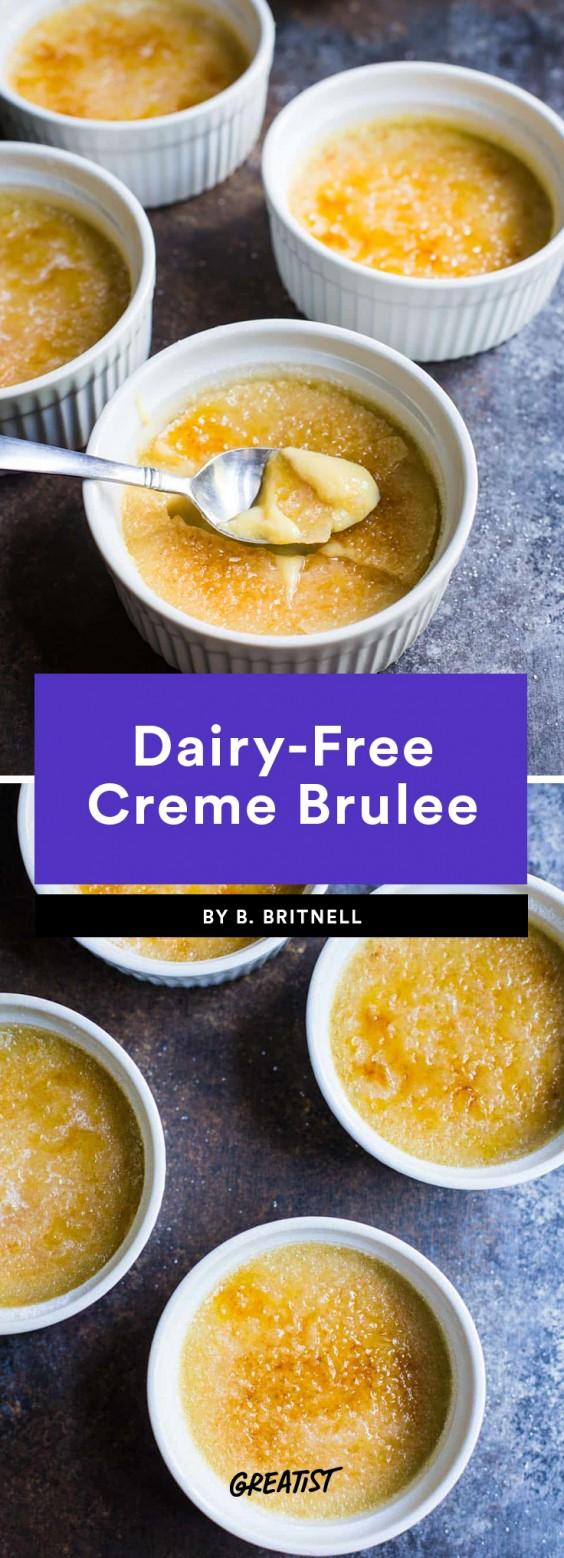 Dairy-Free Creme Brulee Recipe