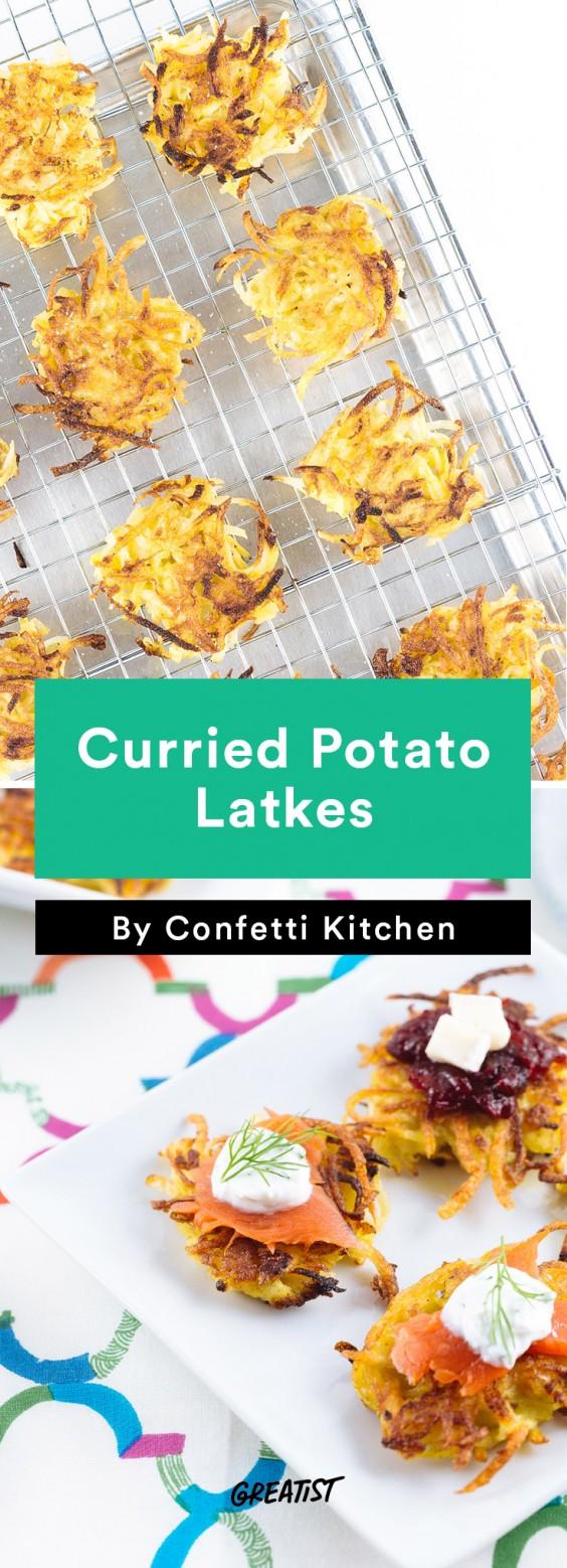 confetti kitchen: Potato Latkes