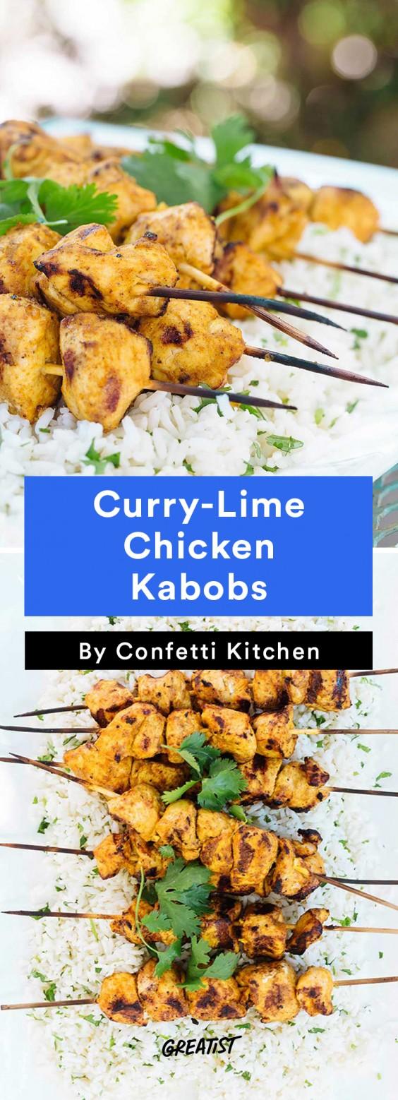 confetti kitchen: Chicken Kabobs