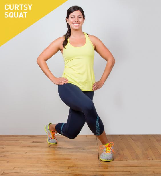 curtsy squat