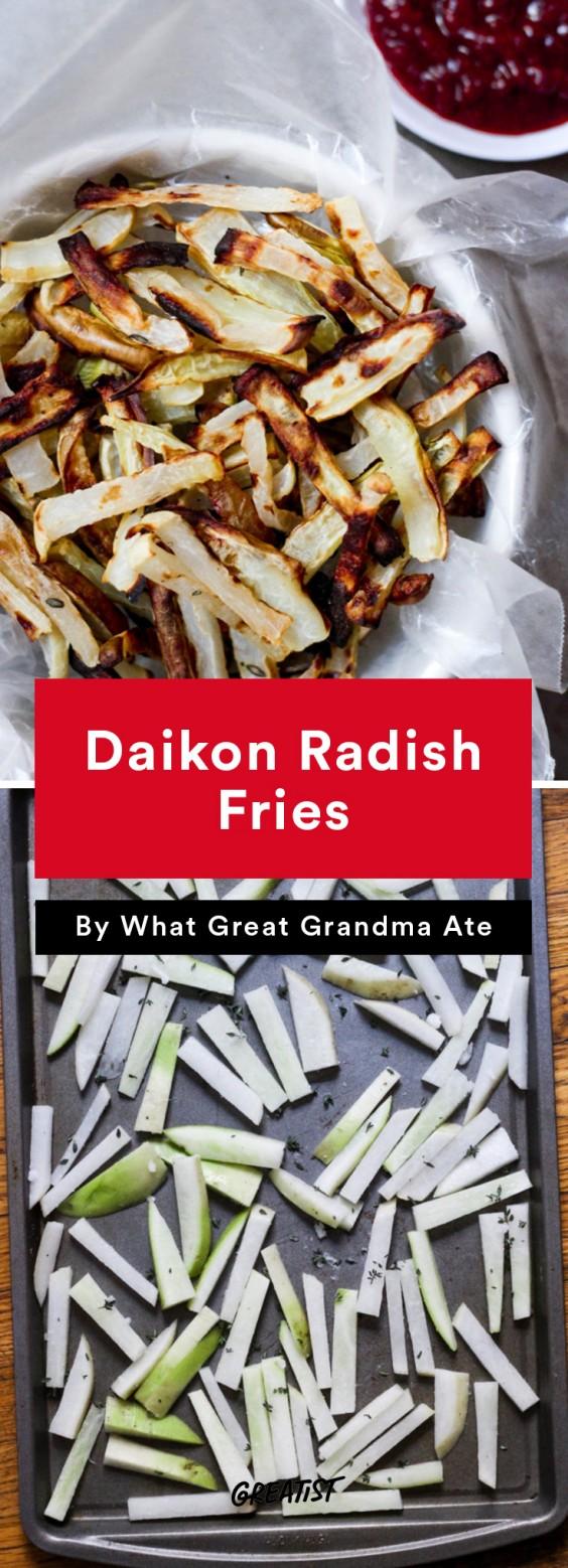 Daikon Radish Fries Recipe