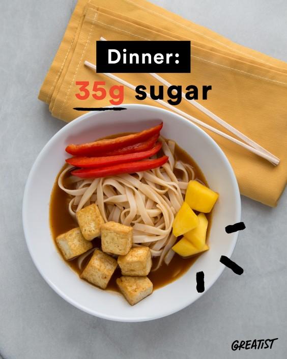 Sugar in Dinner