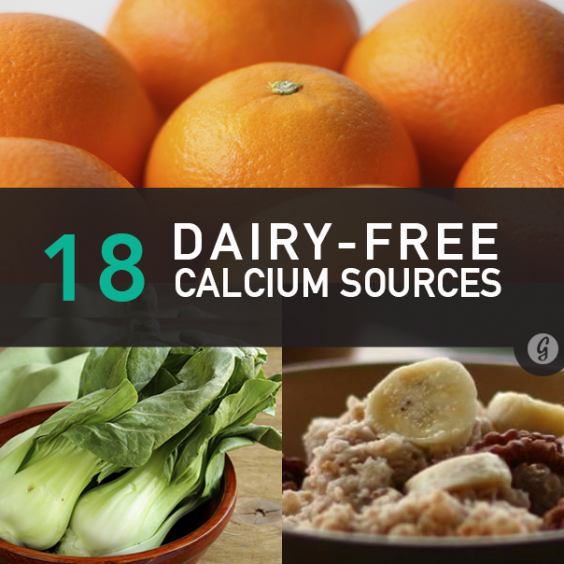 18 Dairy-Free Sources of Calcium