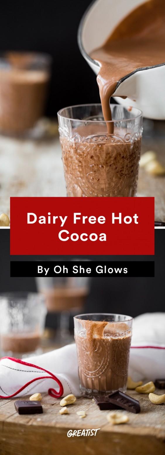 Cashew Milk roundup: Cashew Milk Hot Chocolate