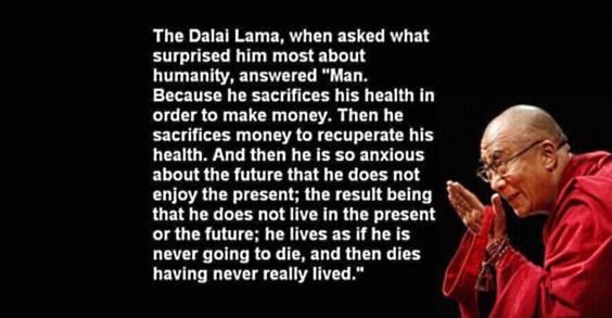 Dalai Lama Inspirational Quote - Fitness Trend