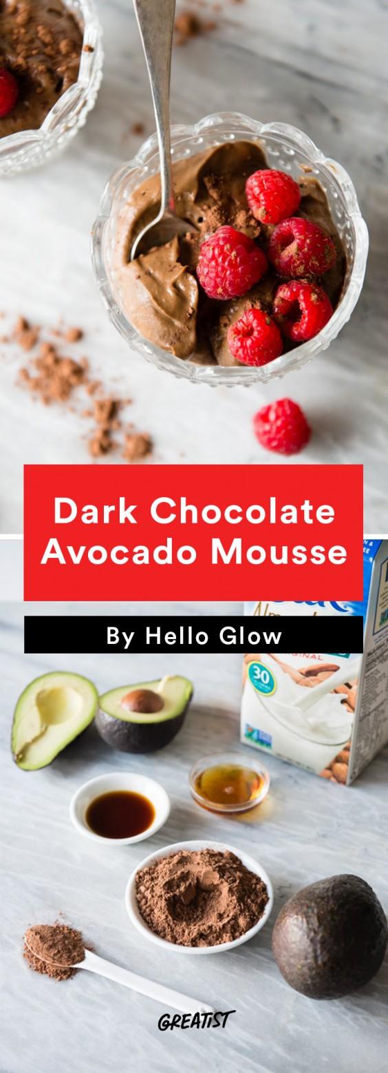 no dairy dessert: Avocado Mousse