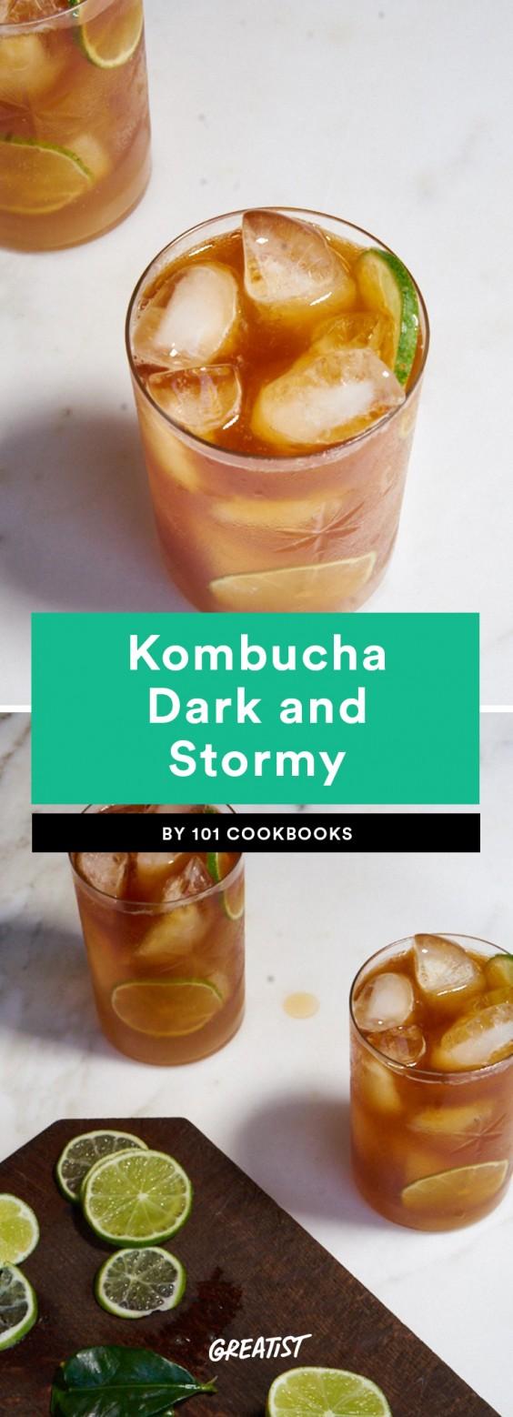 Kombucha Dark and Stormy