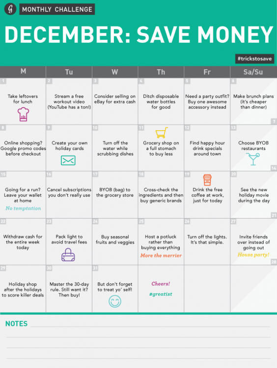 Join Greatist's 30-Day Money-Saving Challenge!   Greatist