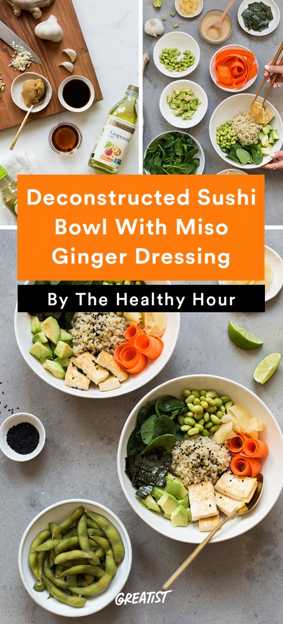 the healthy hour: Sushi Bowl