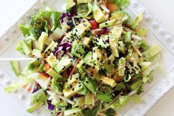 10. Rainbow Salad