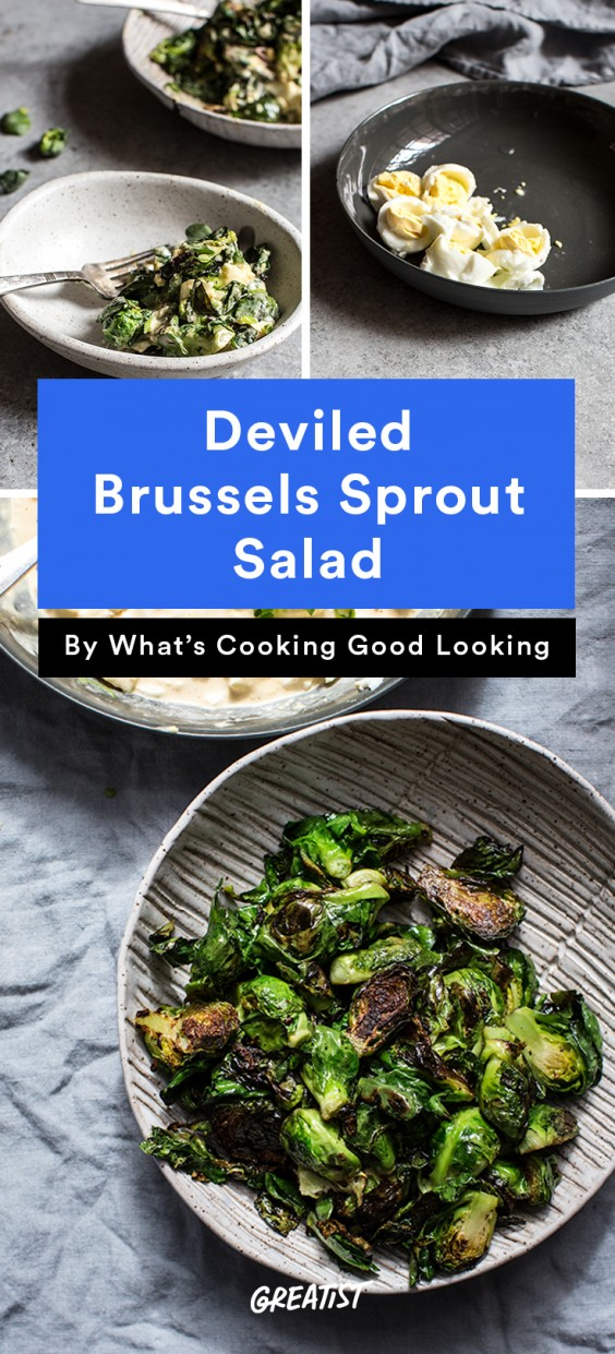 whats cooking good looking: Brussels Sprout Salad