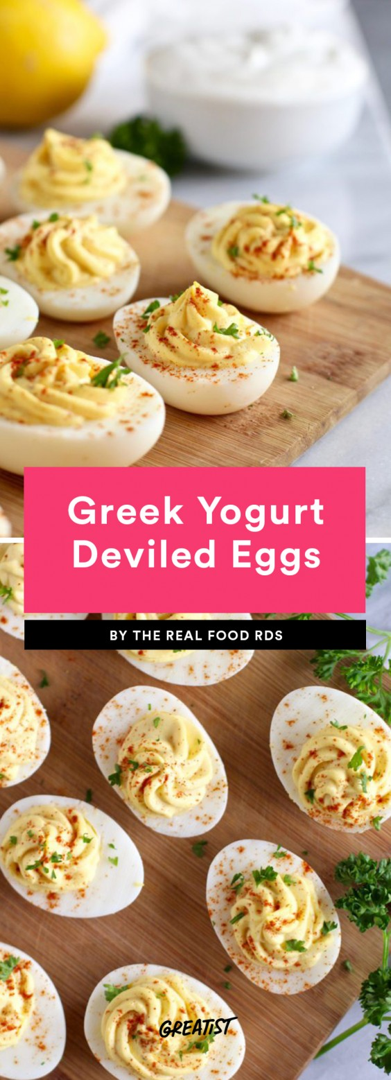 Greek Yogurt Deviled Eggs