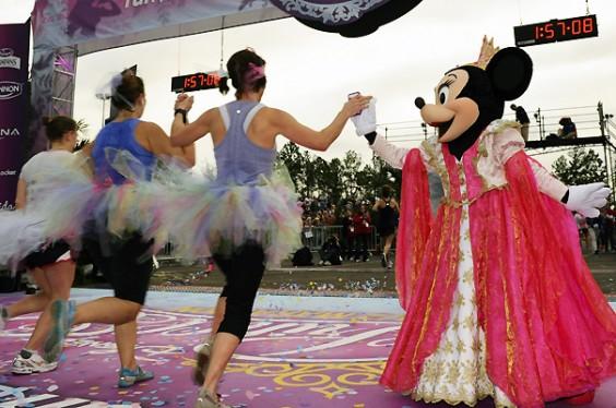 Disney Half Marathon Minnie
