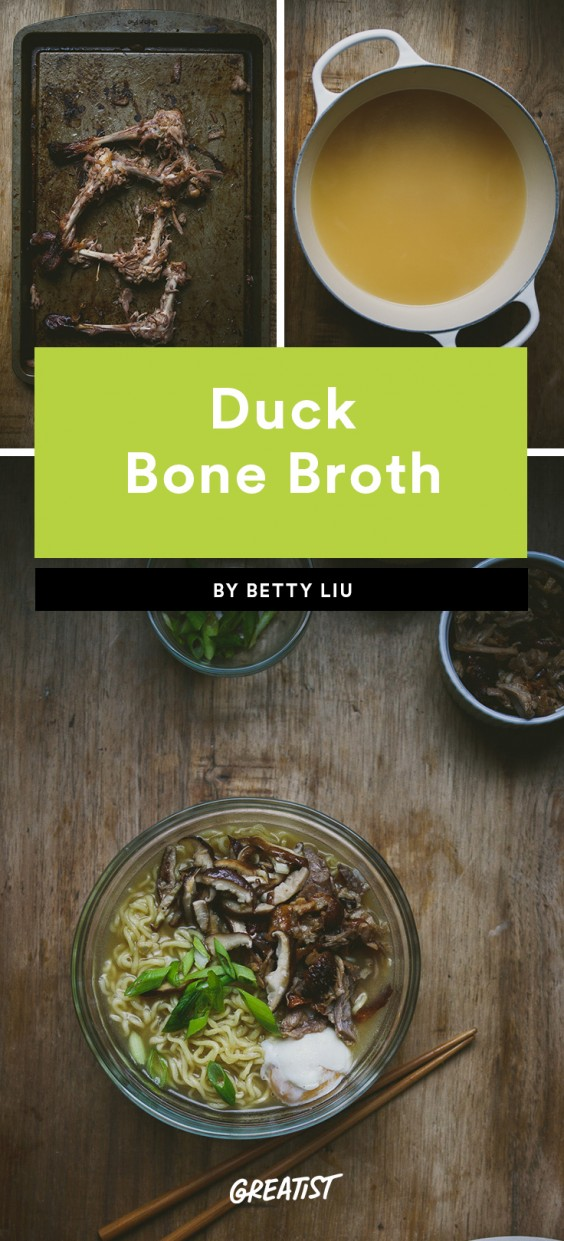Duck Bone Broth