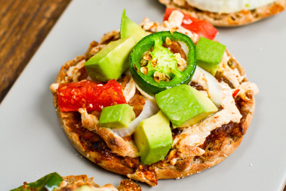 Nacho Pizzas Healthy Football Snacks