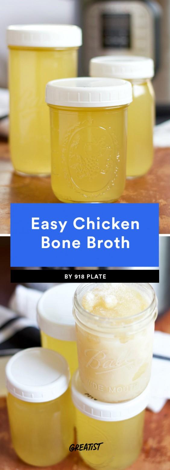 Easy Chicken Bone Broth