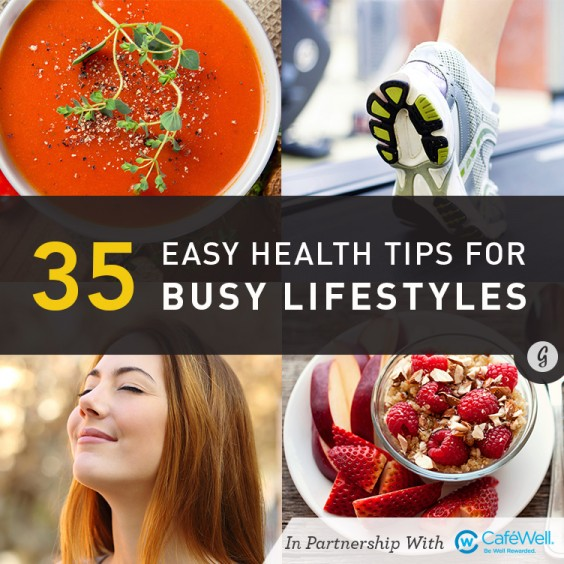 21 (More) Super Simple Health Tips