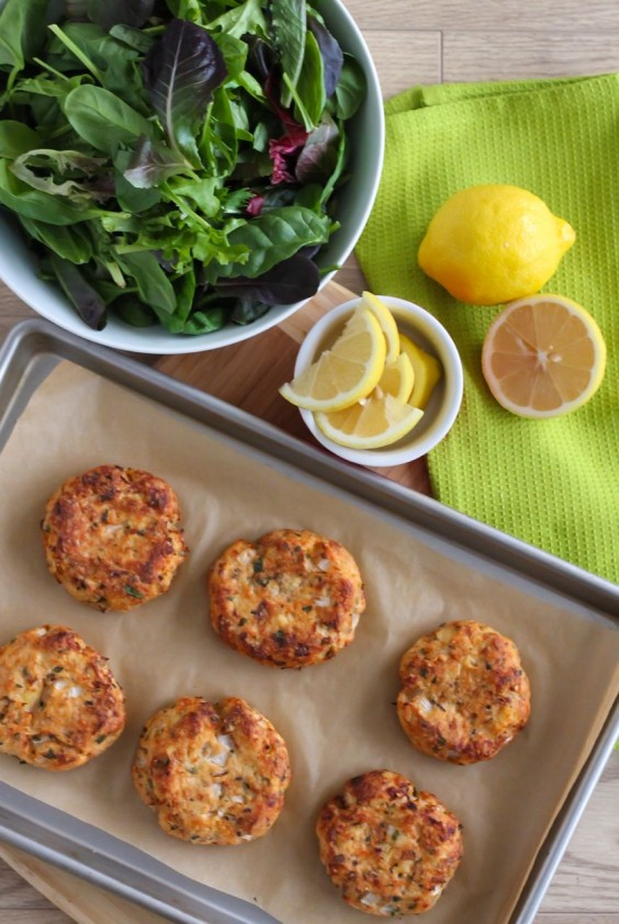 25 high protein meals that dont require chicken greatist 17 lemon herb salmon cakes forumfinder Image collections