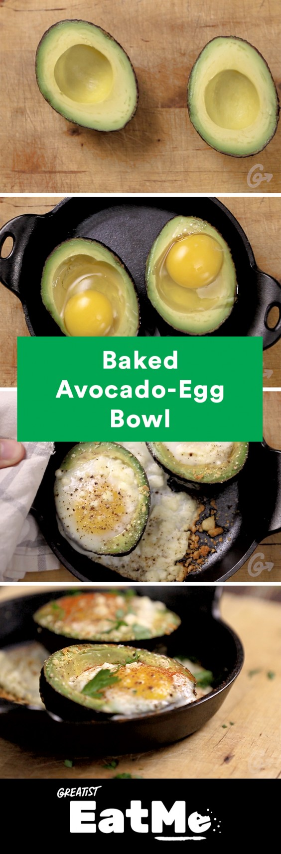 Eat Me Video: Avocado Egg Bowl