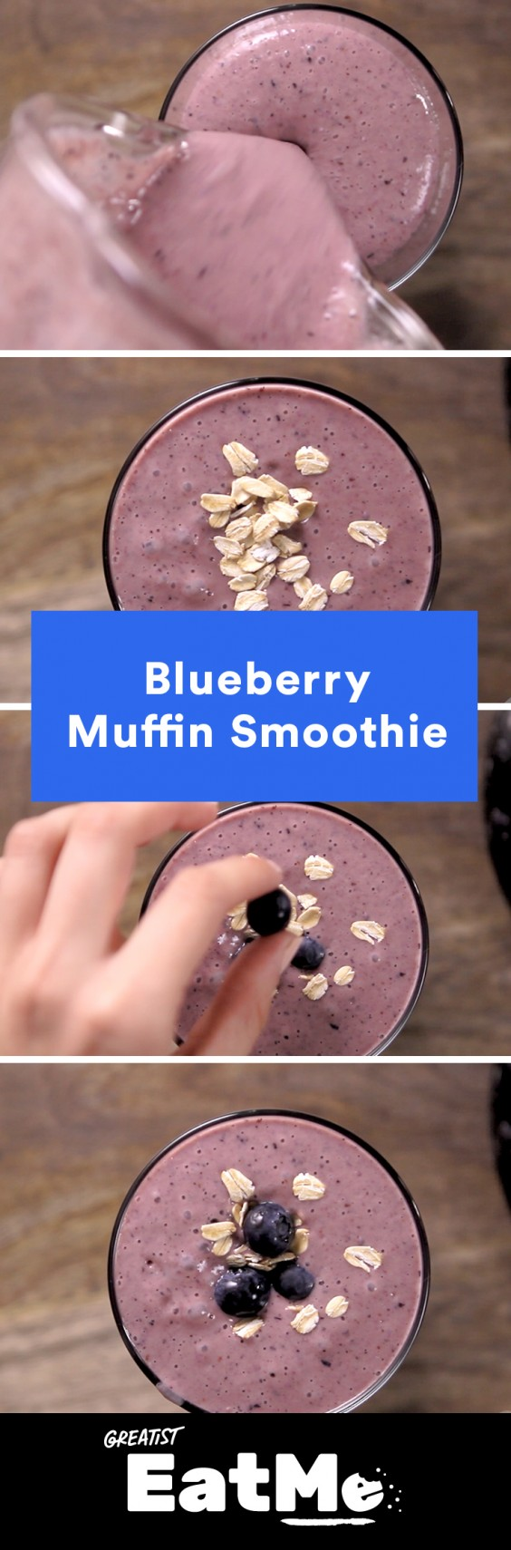 Eat Me Video: Blueberry Muffin Smoothie