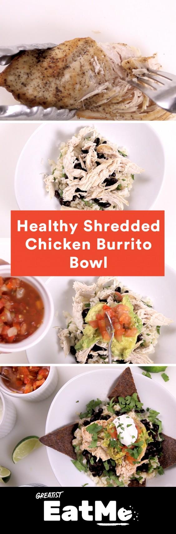 Eat Me Video: Chicken Burrito Bowl