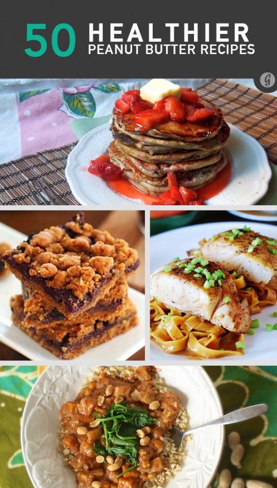 50 Healthier Peanut Butter Recipes You've Never Tried