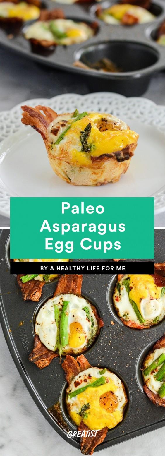 Paleo Asparagus Egg Cups