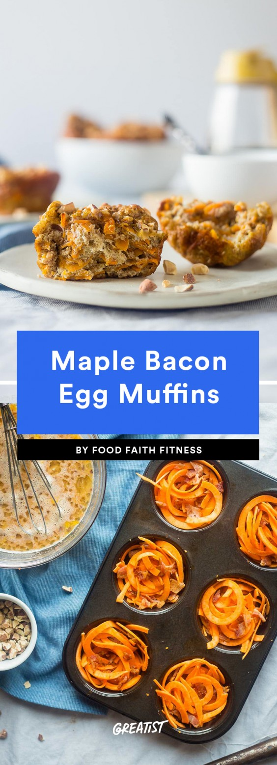 Maple Bacon Egg Muffins