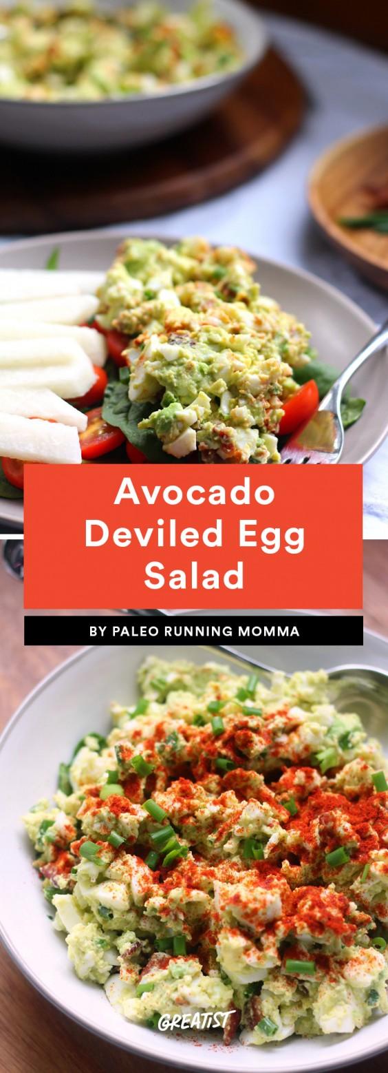 Avocado Deviled Egg Salad