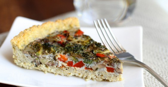 With quinoa, eggs, and veggies, this is one pie that's OK to devour.