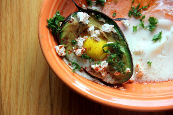 Baked Avocado-Egg Bowl