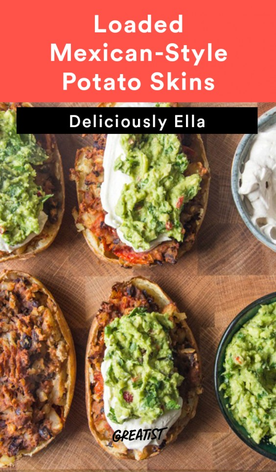 deliciously ella - potato skins