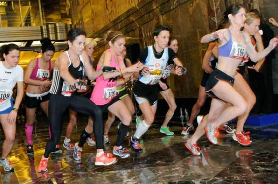 Empire state building run up
