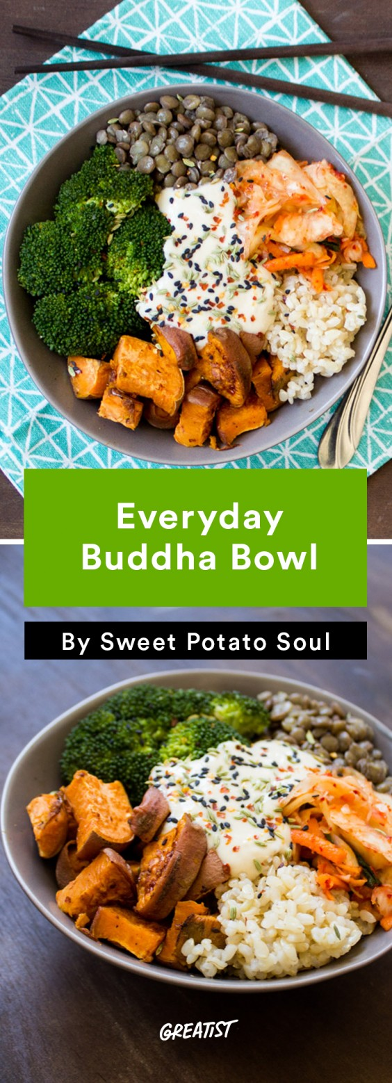 Sweet Potato Soul: buddha bowl
