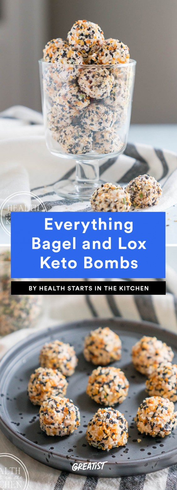Everything Bagel and Lox Keto Bombs