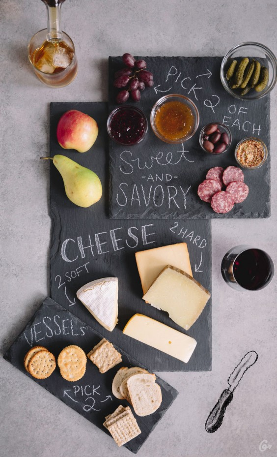 chrismakuh apps: cheese plate
